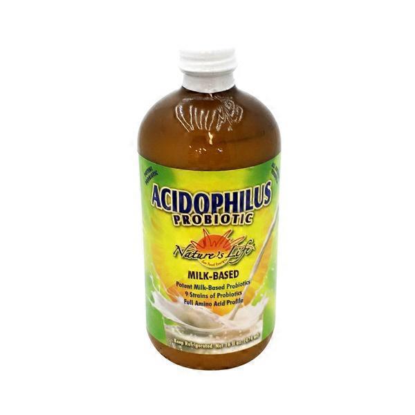 Natures Life Acidophilus Probiotic Milk Based