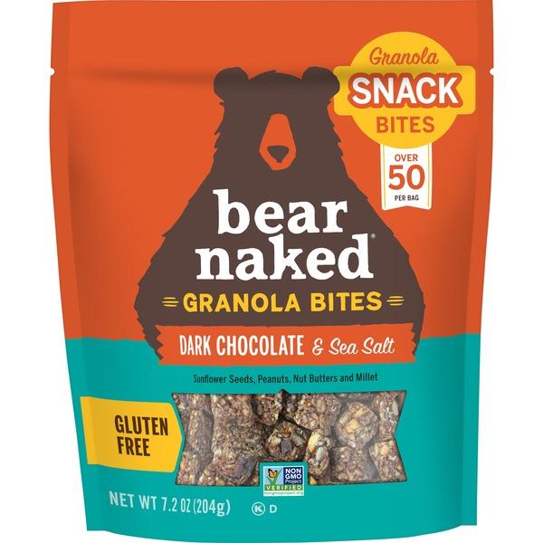 Bear Naked Dark Chocolate Sea Salt Granola Bites - Shop