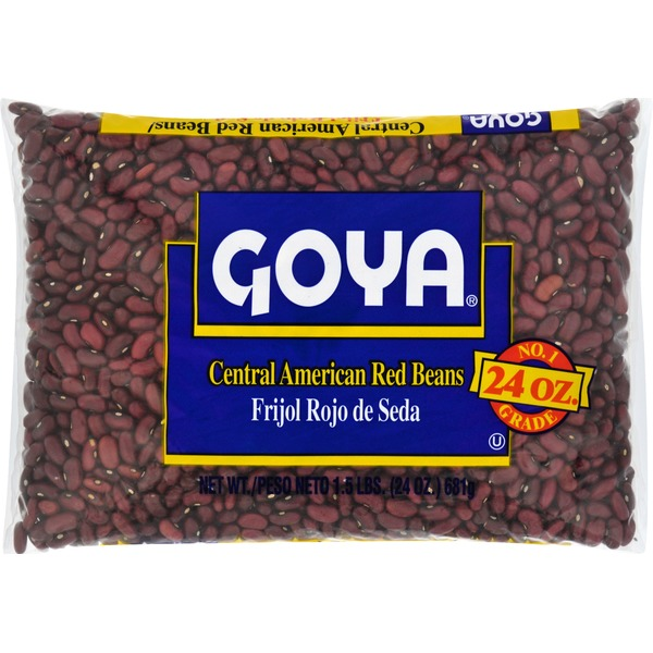 Goya Central American Red Beans Dry 24 Oz Instacart
