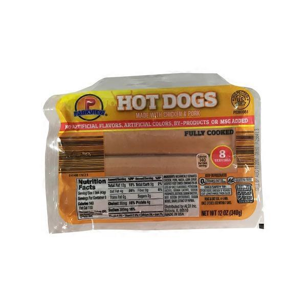 Parkview Hot Dogs (12 oz) from ALDI - Instacart