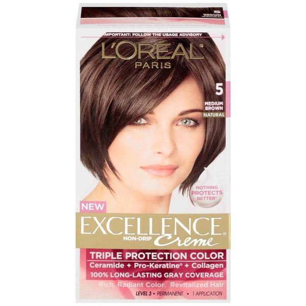 Excellence Creme 5 Medium Brown Hair Color From Kroger Instacart