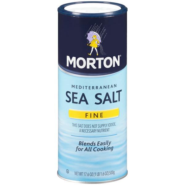 Morton Sea Salt Mediterranean Fine Sea Salt From Stater Bros