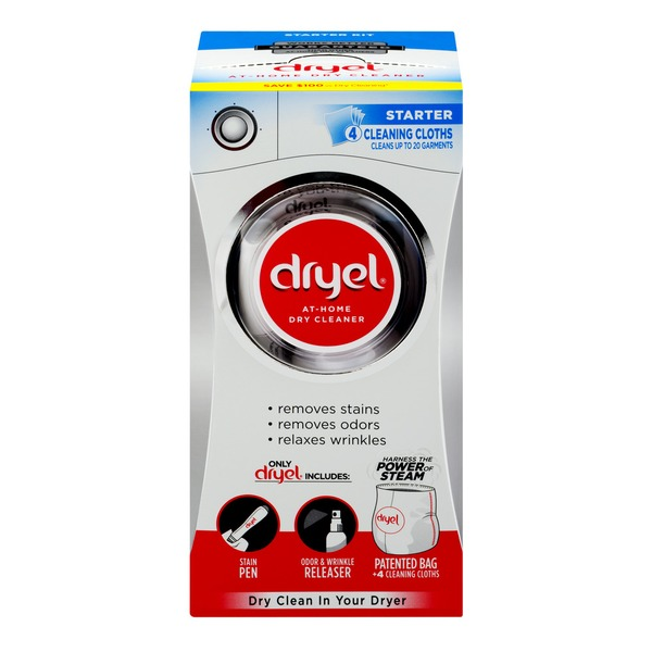 Phenomenal Dryel At Home Dry Cleaner Starter 4 Ct 4 Ct From Cvs Home Interior And Landscaping Dextoversignezvosmurscom
