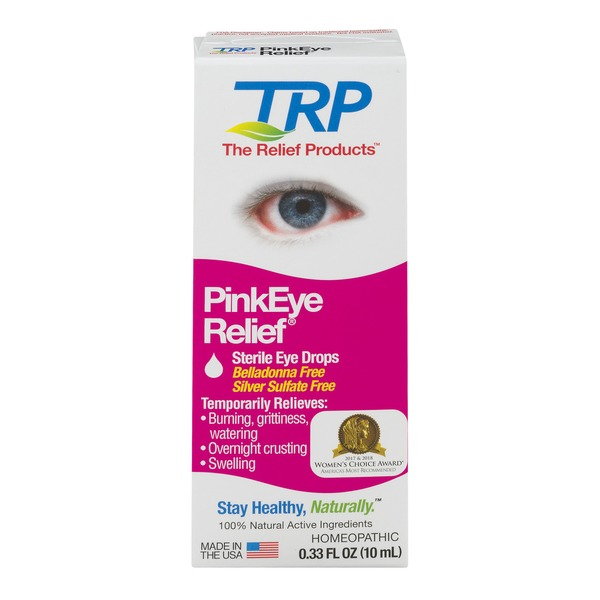 trp sterile eye drops pink eye relief  0 33 oz  from cvs