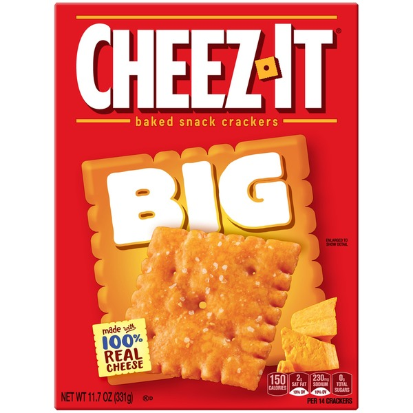 Cheez-It Big Baked Snack Crackers