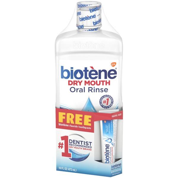 Biotene Oral Rinse, Dry Mouth (16 fl oz) from CVS Pharmacy