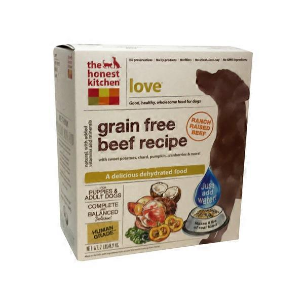 The Honest Kitchen Love Grain Free Beef Dog Food