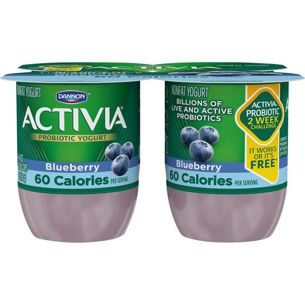 Activia Light Light Probiotic Blended Lowfat Blueberry Dannon Activia Light Probiotic Blended Lowfat Blueberry Yogurt