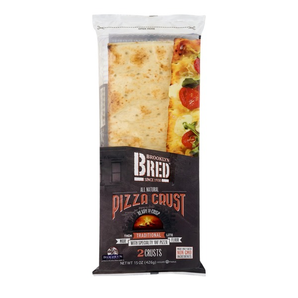 Brooklyn Bred Thin Pizza Crust Traditional - 2 CT (15 oz