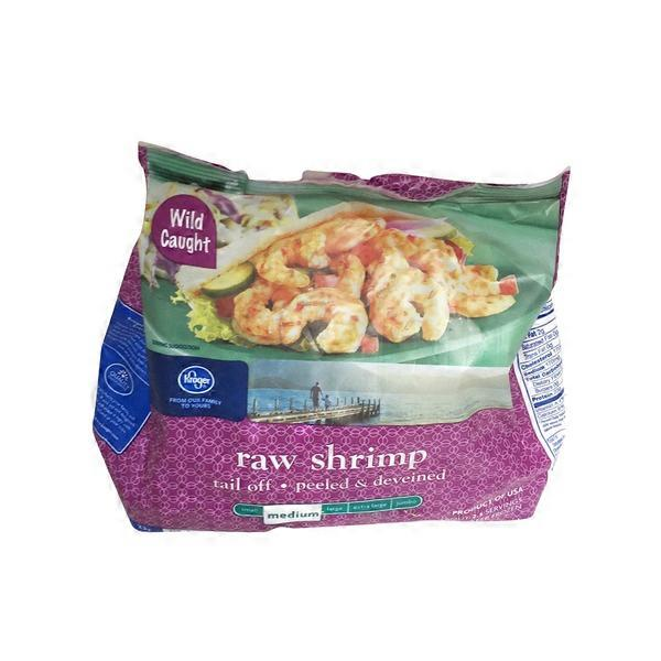 Kroger Medium Raw Shrimp Peeled & Deveined