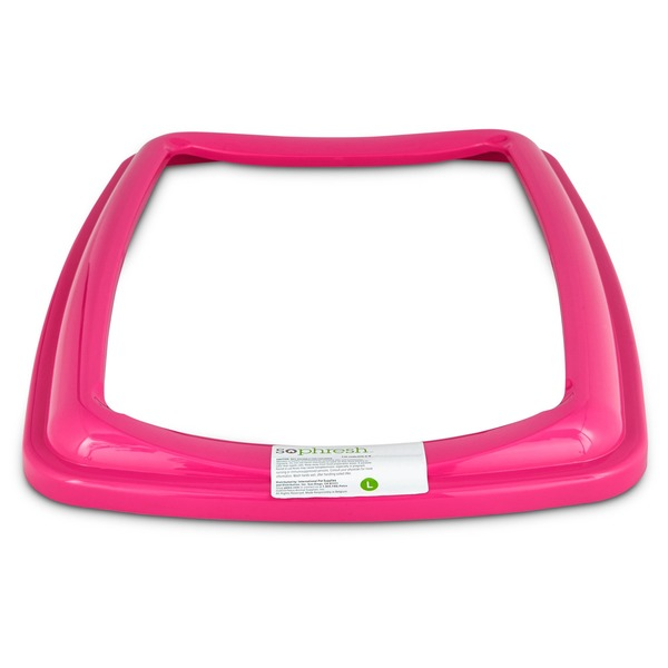 So Phresh Pink Large Open Litter Box Rim (0 25 lb) from