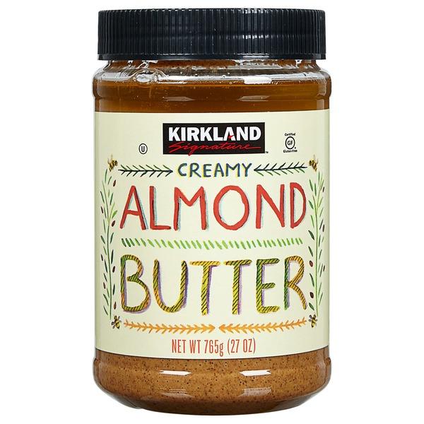 Kirkland Signature Almond Butter, 27 oz (27 oz) from Costco - Instacart