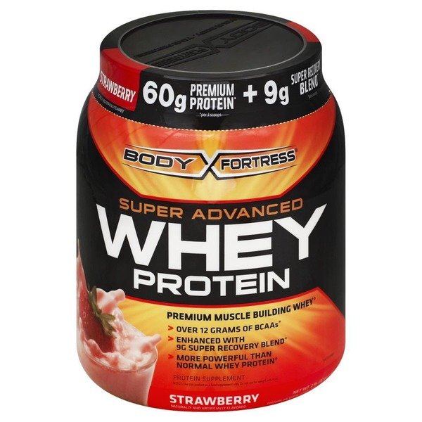 Body Fortress Super Advanced Whey Protein Strawberry from Fred Meyer - Instacart - Zip Code Check