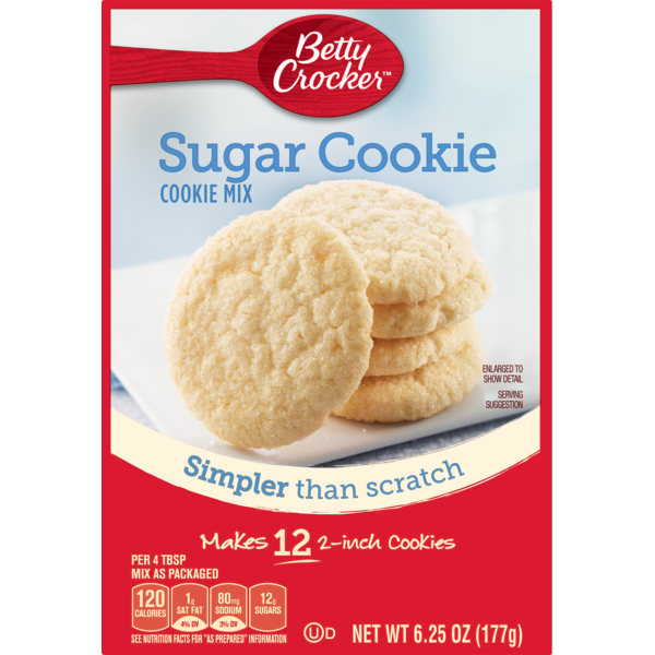 Betty Crocker Sugar Snack Size Cookie Mix From Meijer Instacart