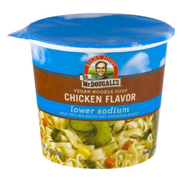 Dr Mcdougalls Vegan Noodle Soup Chicken Flavor Lower Sodium 14
