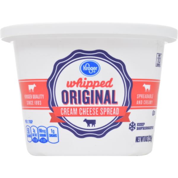 cream cheese at kroger instacart