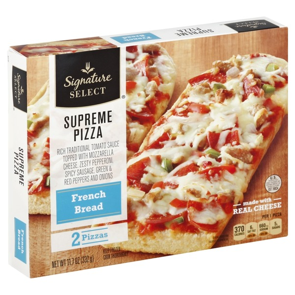 Signature Select Pizza French Bread Supreme From Safeway Instacart