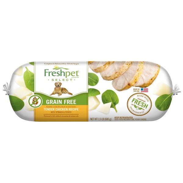Freshpet grain free chicken veg fresh dog food from safeway freshpet grain free chicken veg fresh dog food forumfinder Gallery