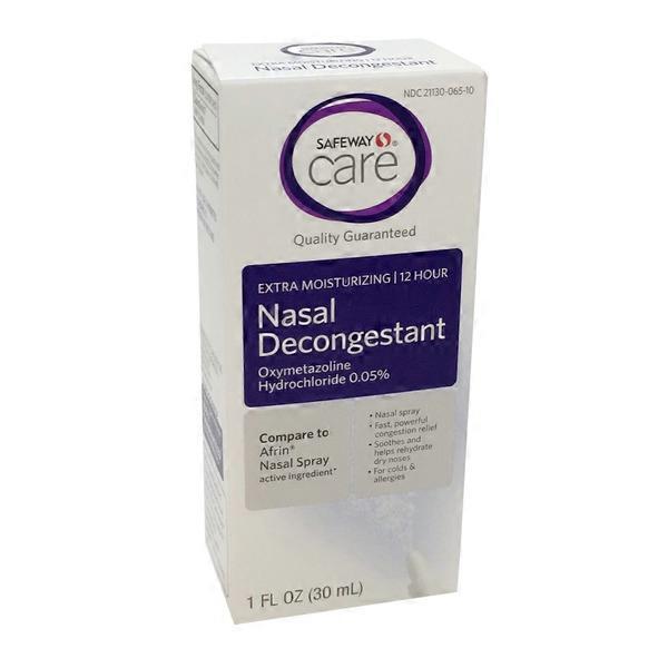 Signature Care 12 Hour Nasal Spray