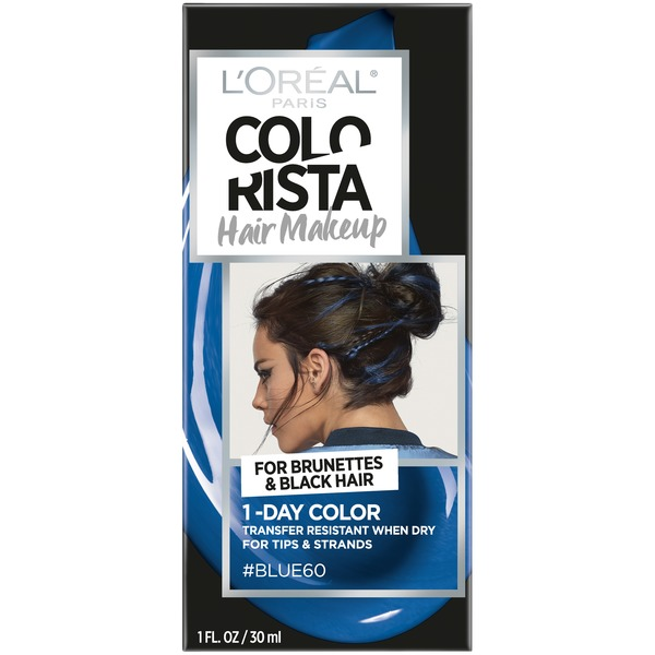 Colorista Hair Makeup 1-Day Hair Color Blue60 (for brunettes ...