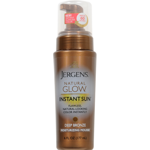 7cc30b03a2a25 Jergens Natural Glow Instant Sun Deep Bronze Sunless Tanning Mousse (6 fl  oz) from Pick  n Save - Instacart