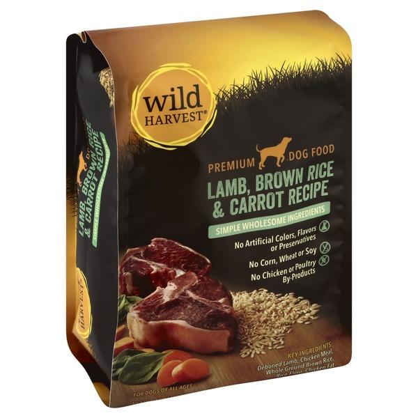 Wild harvest brown rice dog food lamb carrot 4 lb from cub instacart wild harvest brown rice dog food lamb carrot forumfinder Images