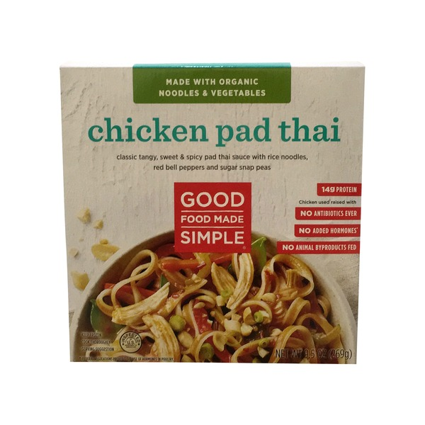 Good Food Made Simple Chicken Pad Thai 95 Oz From Big Y World