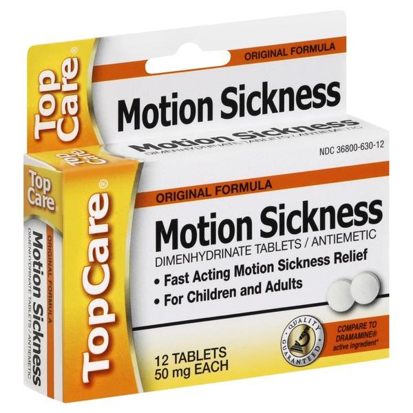 Topcare Health Original Formula Motion Sickness Relief