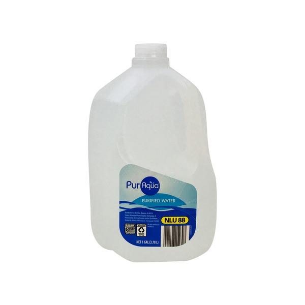 Puraqua Purified Water Gallon 128 Fl Oz From Aldi Instacart