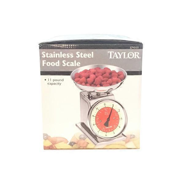 Taylor Kitchen Scale | Taylor Precision Kitchen Scale Stainless Steel 1 Ct From Smart