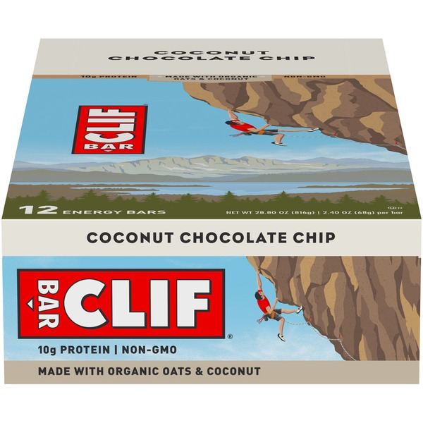 02b184caa Clif Bar® Coconut Chocolate Chip Energy Bar from Stop   Shop - Instacart