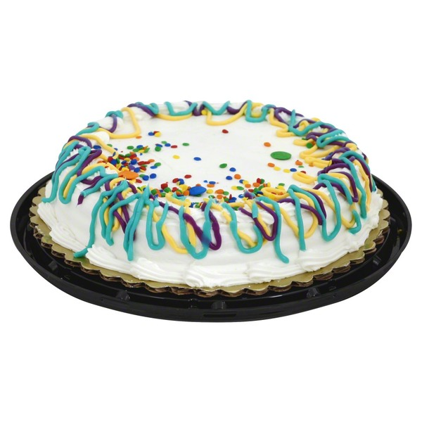 Price Chopper Empire Bakery Commissary Cake Fun Yellow With Buttercreme 8 Inch