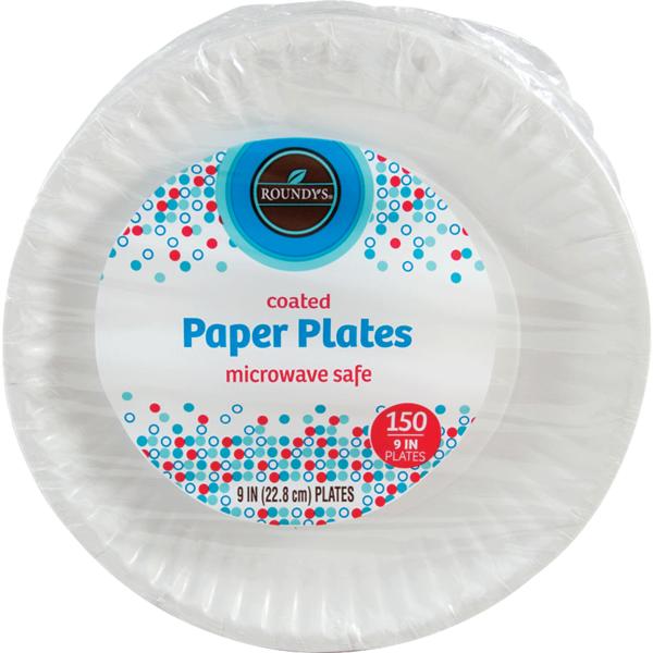 Roundyu0027s Paper Plates  sc 1 st  Instacart & Roundyu0027s Paper Plates (150 ct) from Marianou0027s - Instacart
