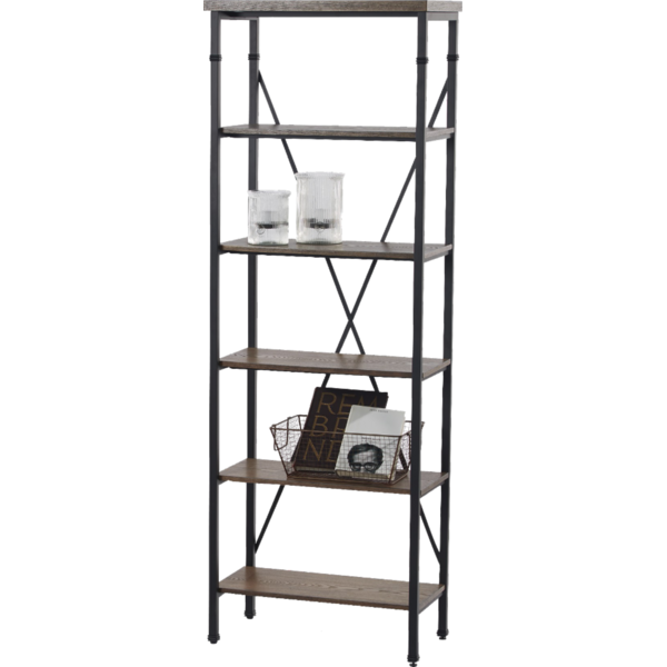 Hd designs black 6 tier houston bookcase from kroger instacart hd designs black 6 tier houston bookcase publicscrutiny Gallery