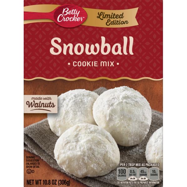 Betty Crocker Snowball Cookie Mix 10 8 Oz Instacart