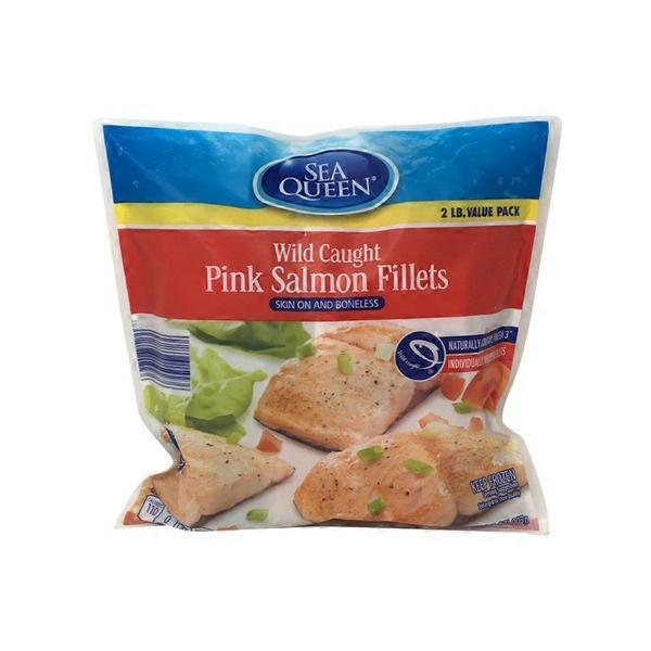 Sea Queen Value Pack Wild Caught Salmon with Skin (32 oz