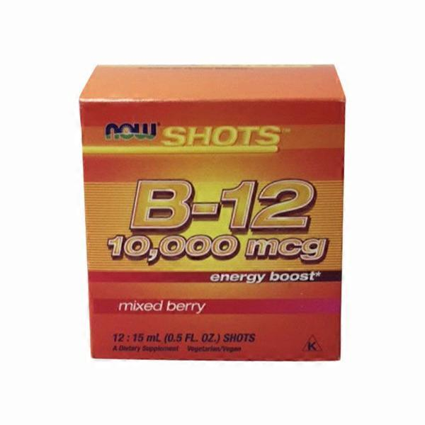 Now Energy B12 Shot (12 ct) from Sprouts Farmers Market - Instacart