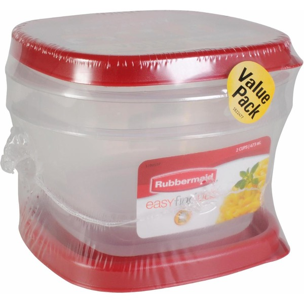 Rubbermaid 2 Pack 2 Cup Easy Find Lids each from QFC Instacart