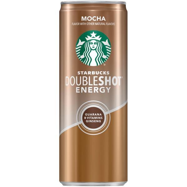 Starbucks Doubleshot Mocha Energy Coffee Beverage 11 Fl Oz