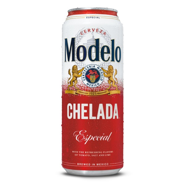 Modelo Chelada Especial Mexican Flavored Import Beer Can 24