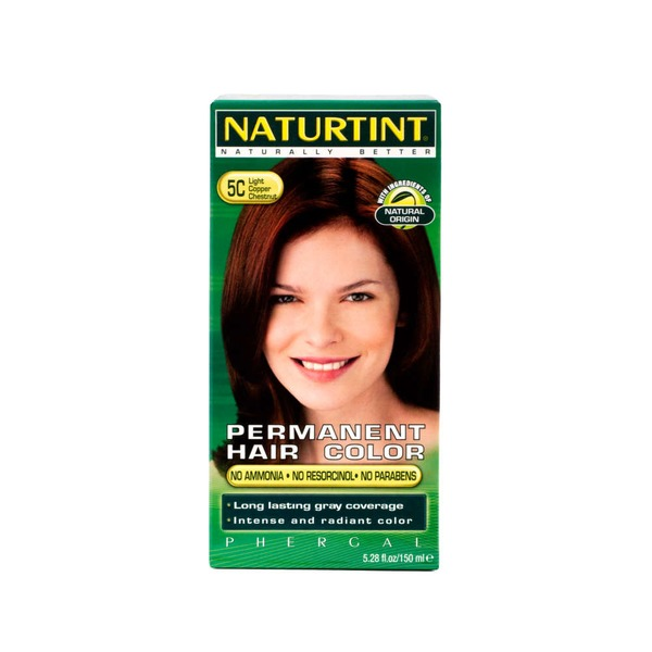 Naturtint Permanent Hair Color 5c Light Copper Chestnut From Whole