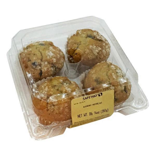 Signature Kitchen Blueberry Muffins 14 oz from Safeway Instacart