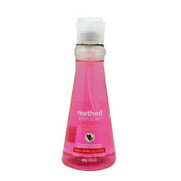 method pink grapefruit dish soap