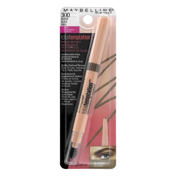 63f094f299c Maybelline Total Temptation Brow Definer Pencil 300 Blonde (0.005 oz ...