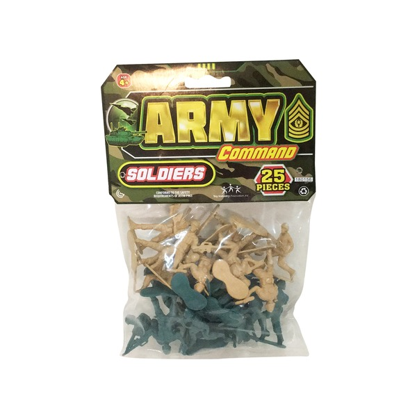 Ja-Ru Inc  Toy, Army Command, Soldiers (1 each) from Kroger