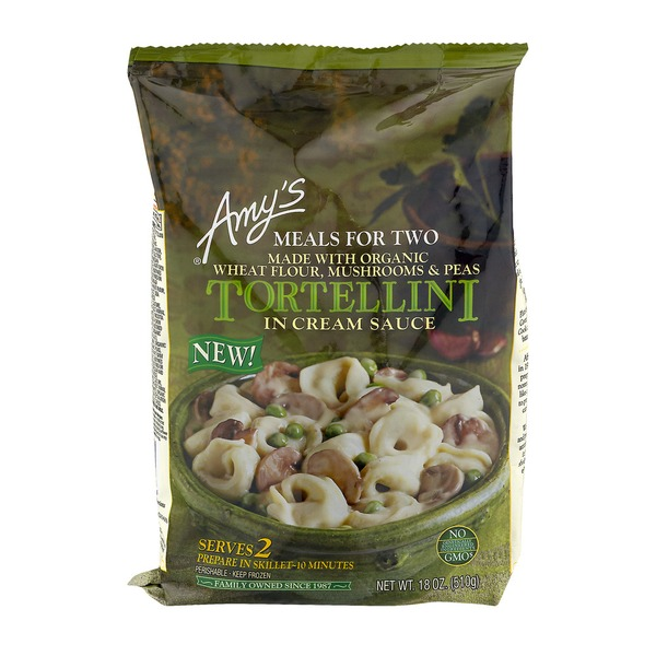 Amys Meals For Two Tortellini In Cream Sauce From Stater Bros