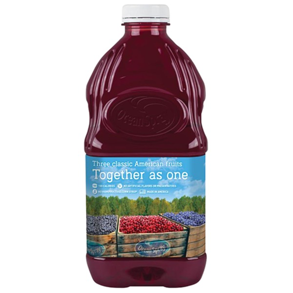 Cran-america Cranberry, Concord Grape, And Blueberry Juice Drink (60