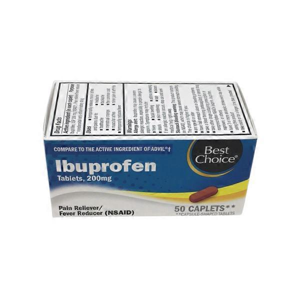 Best Choice Ibuprofen 200 Mg Caplets (50 ct) from SuperLo