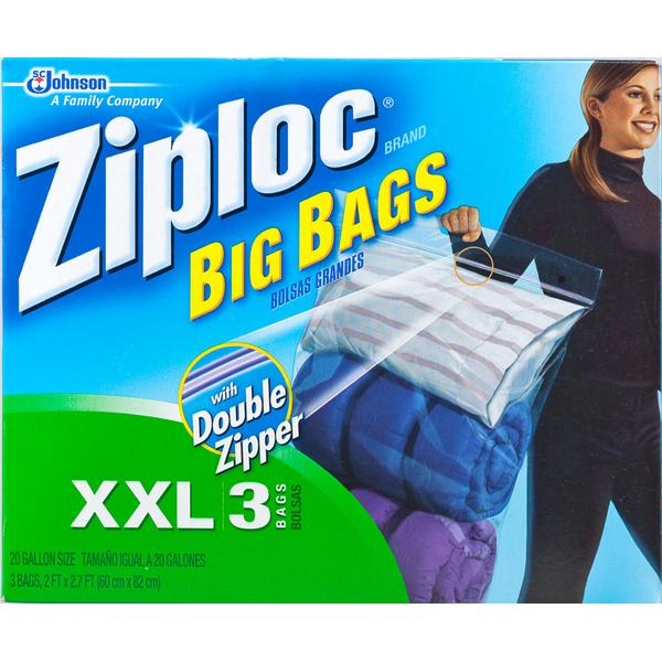 Ziploc Big Bags Jumbo Storage Bags  sc 1 st  Instacart & Ziploc Big Bags Jumbo Storage Bags from Publix - Instacart