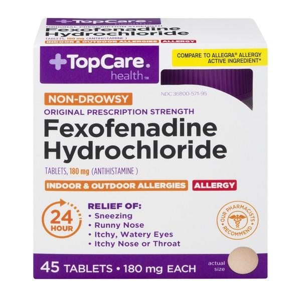 Topcare Health Non-drowsy Original Prescription Strength